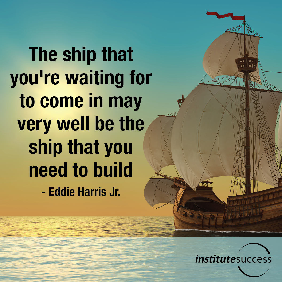 the ship that never reaches shore They had the shore in view, yet suffered shipwreck in the harbour thus we are taught never to be secure though there is great difficulty in the way of the promised salvation, it shall, without fail, be brought to pass.