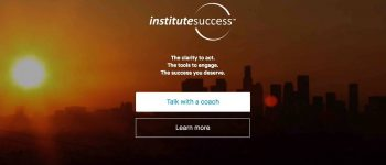 Institute Success homepage